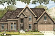 Traditional Style House Plan - 3 Beds 3 Baths 2573 Sq/Ft Plan #329-350 Exterior - Front Elevation