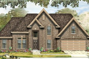Traditional Exterior - Front Elevation Plan #329-350