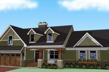 Dream House Plan - Craftsman Exterior - Other Elevation Plan #51-512