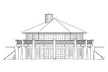 Architectural House Design - Prairie Exterior - Rear Elevation Plan #124-1143