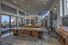 Home Plan - Contemporary Interior - Dining Room Plan #935-5