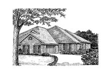 Traditional Exterior - Other Elevation Plan #310-474