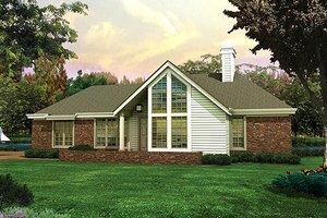 Modern Exterior - Front Elevation Plan #57-169