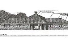 Farmhouse Exterior - Other Elevation Plan #124-195