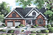 Traditional Style House Plan - 3 Beds 2 Baths 1795 Sq/Ft Plan #929-882 Exterior - Front Elevation