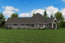 Craftsman Exterior - Other Elevation Plan #48-959