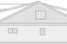 Craftsman Exterior - Other Elevation Plan #124-890