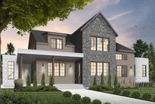 Dream House Plan - Farmhouse Exterior - Front Elevation Plan #23-2691