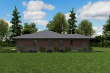 Contemporary Exterior - Other Elevation Plan #48-958