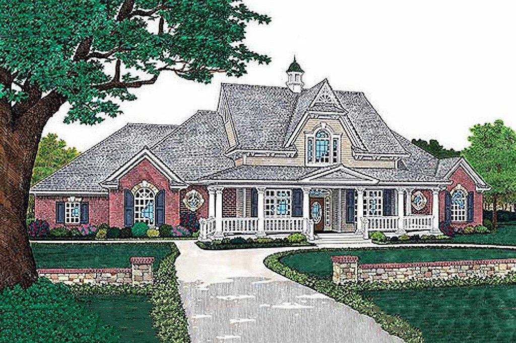 European style home elevation European Style House