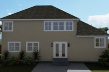Dream House Plan - Traditional Exterior - Rear Elevation Plan #1060-49