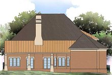 Home Plan - Tudor Exterior - Rear Elevation Plan #119-332