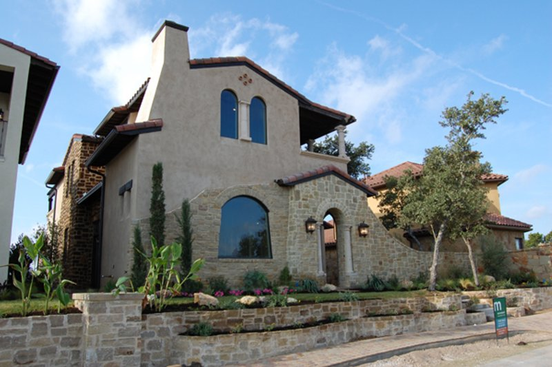 Mediterranean Exterior - Front Elevation Plan #120-164 - Houseplans.com
