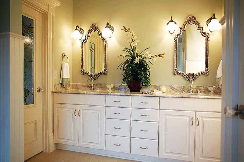 Victorian Interior - Master Bathroom Plan #410-104 - Houseplans.com