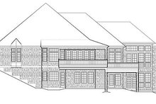 Dream House Plan - European Exterior - Other Elevation Plan #48-133