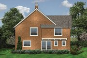 Craftsman Style House Plan - 3 Beds 2.5 Baths 2044 Sq/Ft Plan #48-114 Exterior - Rear Elevation
