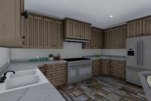 Craftsman Interior - Kitchen Plan #1060-55