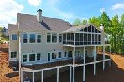 Farmhouse Style House Plan - 4 Beds 3.5 Baths 4152 Sq/Ft Plan #437-93 Exterior - Rear Elevation