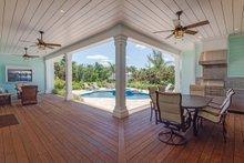 House Plan Design - Farmhouse Exterior - Outdoor Living Plan #938-82