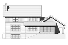 Craftsman Exterior - Rear Elevation Plan #901-123