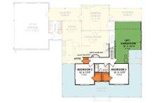 Country Floor Plan - Upper Floor Plan Plan #20-2041