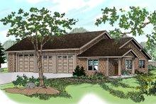 House Plan Design - Craftsman style garage