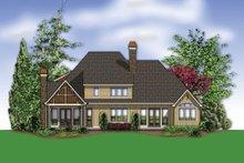 Home Plan - European Exterior - Rear Elevation Plan #48-614