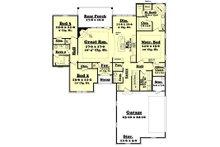 European Floor Plan - Main Floor Plan Plan #430-119