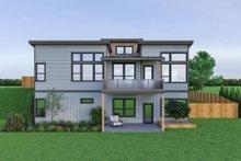 Architectural House Design - Contemporary Exterior - Rear Elevation Plan #1070-56