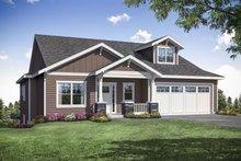 House Design - Craftsman Exterior - Front Elevation Plan #124-1164