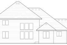 Traditional Exterior - Rear Elevation Plan #51-387