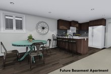 Home Plan - Future Finished Basement Apartment