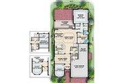 European Style House Plan - 3 Beds 2.5 Baths 2565 Sq/Ft Plan #27-350 Floor Plan - Main Floor Plan