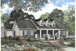 Farmhouse Exterior - Front Elevation Plan #17-1144