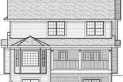 Farmhouse Style House Plan - 4 Beds 2.5 Baths 2349 Sq/Ft Plan #70-579 Exterior - Rear Elevation