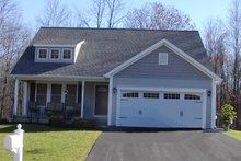 Cottage Exterior - Front Elevation Plan #20-1205