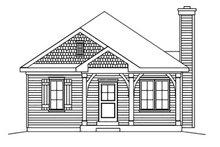 Cottage Exterior - Front Elevation Plan #22-568