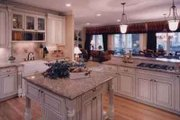 Southern Style House Plan - 4 Beds 3.5 Baths 3746 Sq/Ft Plan #46-131 Photo