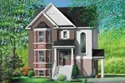 European Style House Plan - 2 Beds 1 Baths 3564 Sq/Ft Plan #25-308 Exterior - Front Elevation