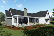 Country Style House Plan - 3 Beds 3 Baths 2593 Sq/Ft Plan #1069-3 Exterior - Front Elevation