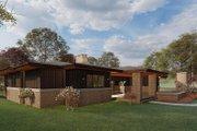 Prairie Style House Plan - 4 Beds 3.5 Baths 2681 Sq/Ft Plan #923-164