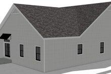 Craftsman Exterior - Rear Elevation Plan #44-235