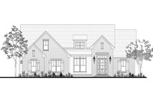 Home Plan - Farmhouse Exterior - Front Elevation Plan #430-189