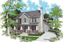 Dream House Plan - Craftsman Exterior - Front Elevation Plan #48-339