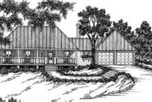 Dream House Plan - Southern Exterior - Front Elevation Plan #36-403