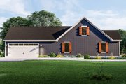 Country Style House Plan - 3 Beds 2 Baths 1936 Sq/Ft Plan #406-9659 Exterior - Other Elevation