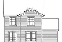 House Design - Farmhouse Exterior - Rear Elevation Plan #48-192