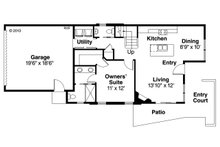 Floor Plan - Main Floor Plan Plan #124-954