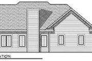 Traditional Style House Plan - 3 Beds 2 Baths 1774 Sq/Ft Plan #70-679 Exterior - Rear Elevation
