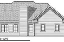 Dream House Plan - Traditional Exterior - Rear Elevation Plan #70-679